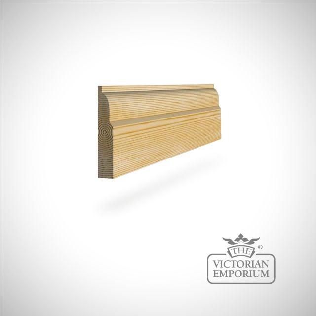 Ovolo Skirting 117 x 21mm - simple skirting profile