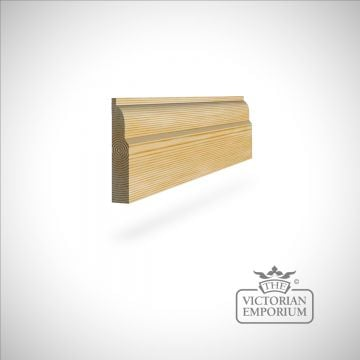 Ovolo Skirting 117 x 21mm - simple skirting profile