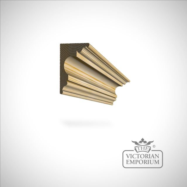 Wooden coving 89x61mm (sold in two pieces 89x21 / 44x21mm)