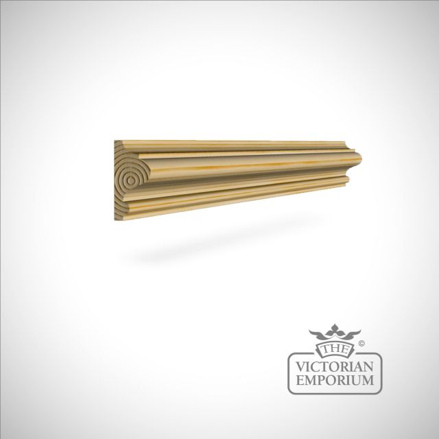 Wooden dado 45 x 21 mm