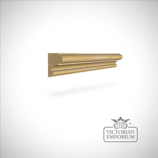 Wooden dado 45 x 29mm