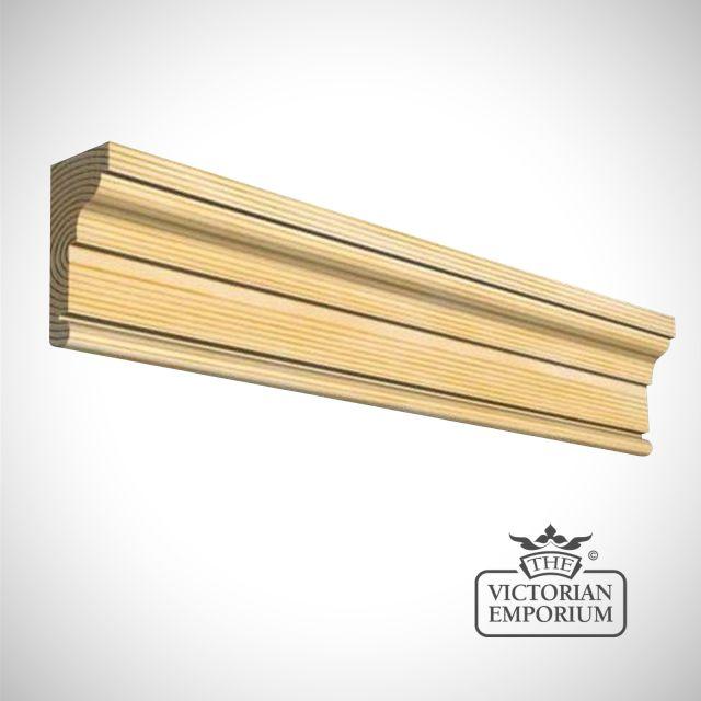 Wooden Door Architrave 69mm x 28mm in Redwood (pine) and Oak