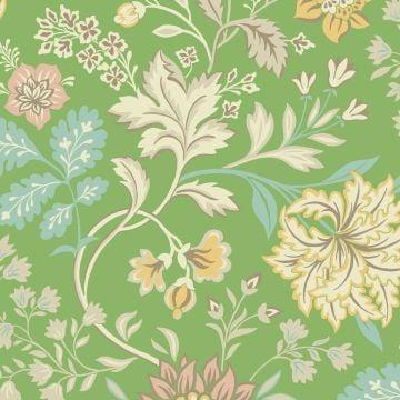 Alicia Multicoloured botanical wallpaper in 3 colourways