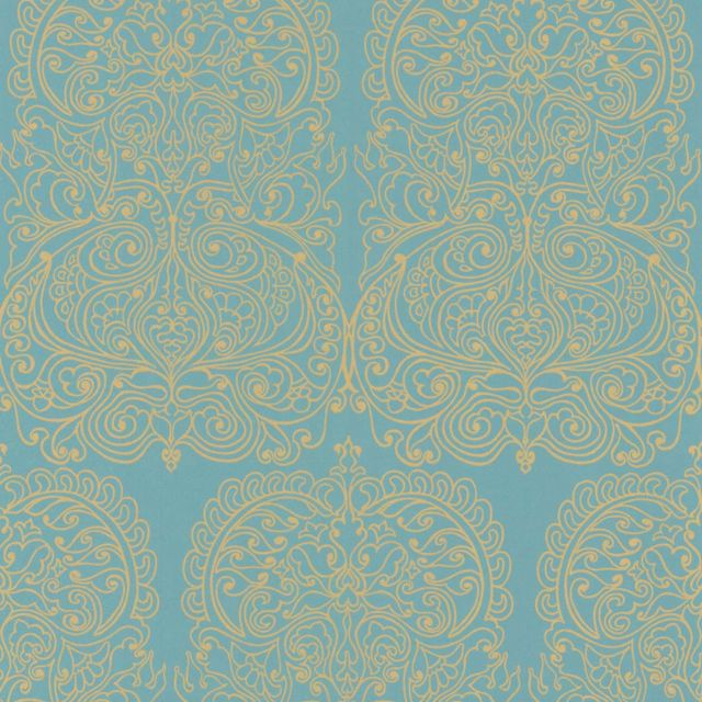 Alpania wallpaper in choice of two colourways