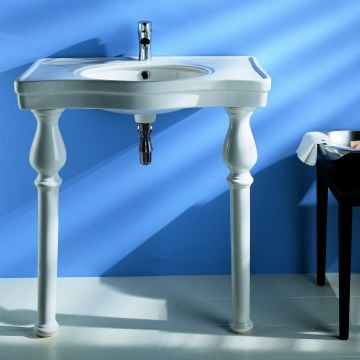 Large Basin with Ceramic legs