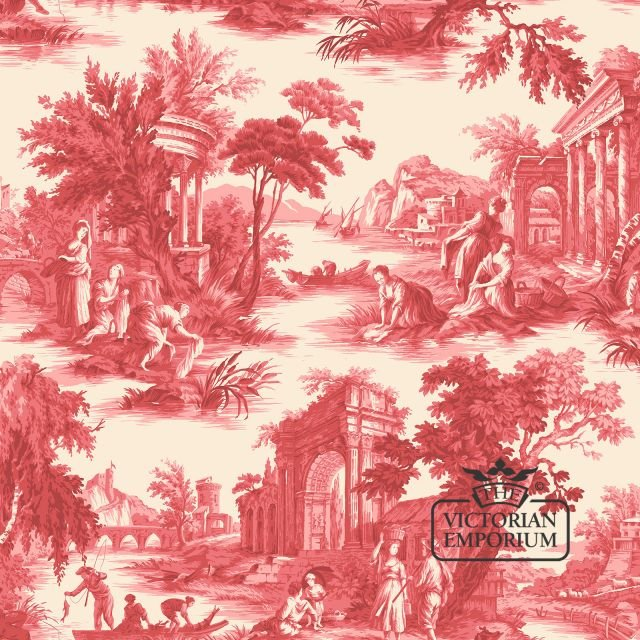 Villandry wallpaper in choice of colours