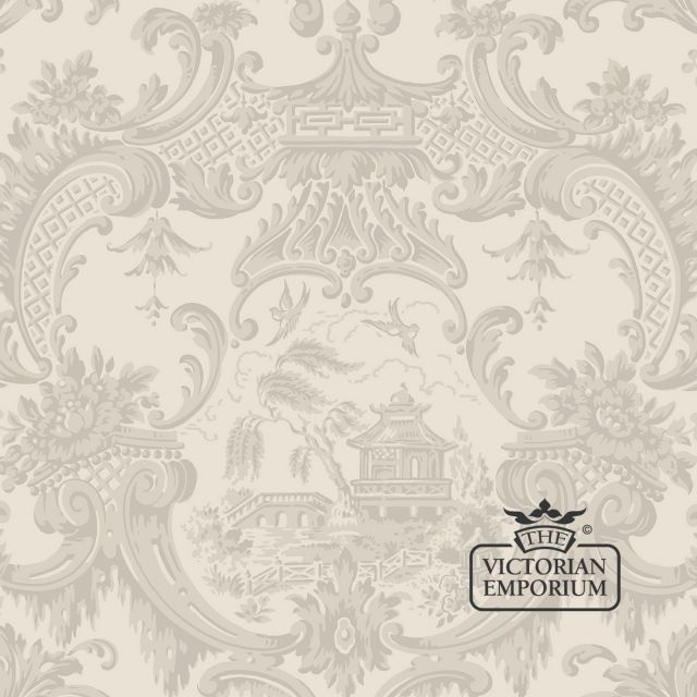 Chippendale wallpaper in choice of 6 colours