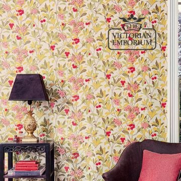 Tree of Strawberries wallpaper in choice of 3 colours