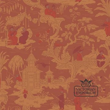 Chinese toile wallpaper in choice of 4 colours