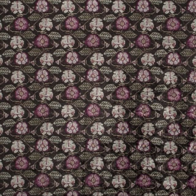 Tapestry velvet fabric - choice of 2 colourways