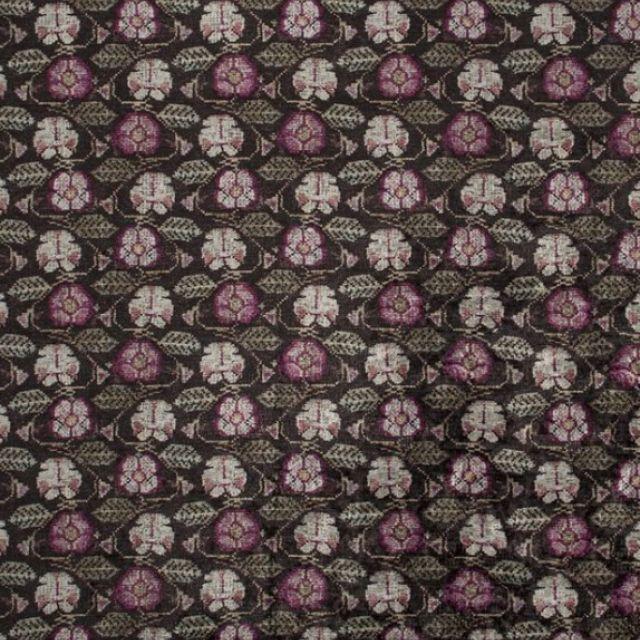 Tapestry velvet fabric - choice of 2 colourways