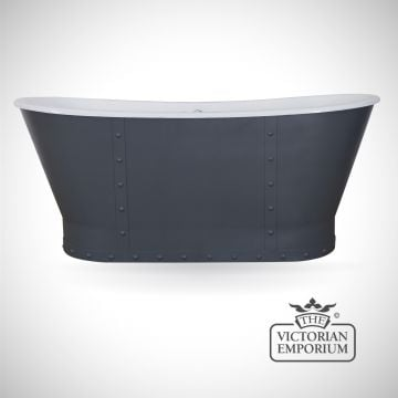 Sudbury cast iron bath - painted