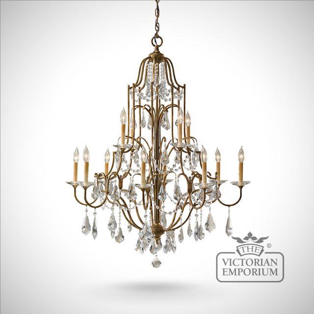 Valentine 12 light chandelier