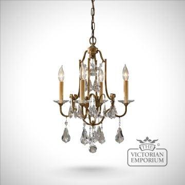 Valentine 4 light chandelier