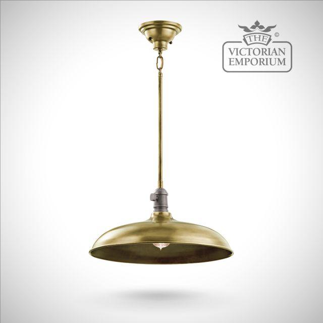 Cobstone large pendant