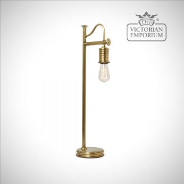 Douillet table lamp in Aged Brass