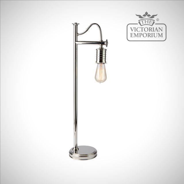 Douillet table lamp in Polished Nickel