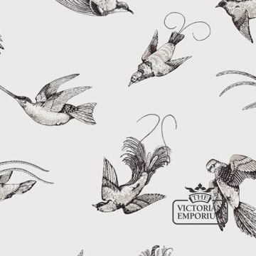 Tropical birds wallpaper in choice of five colourways