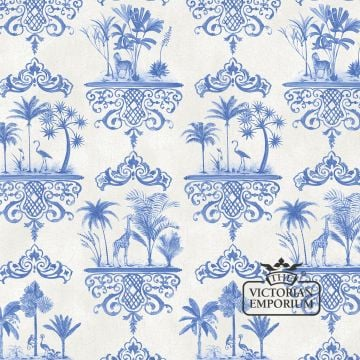 Rousseau wallpaper in choice of five colours