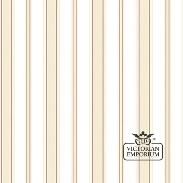 Cambridge stripe wallpaper in choice of six colours