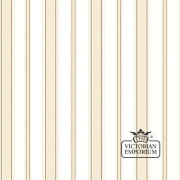 Cambridge stripe wallpaper in choice of six colours