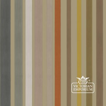 Carousel stripe wallpaper in choice of two colours