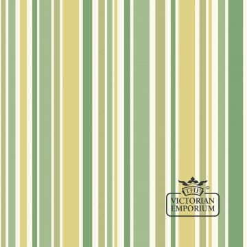 Jubilee stripe wallpaper in choice of six colours