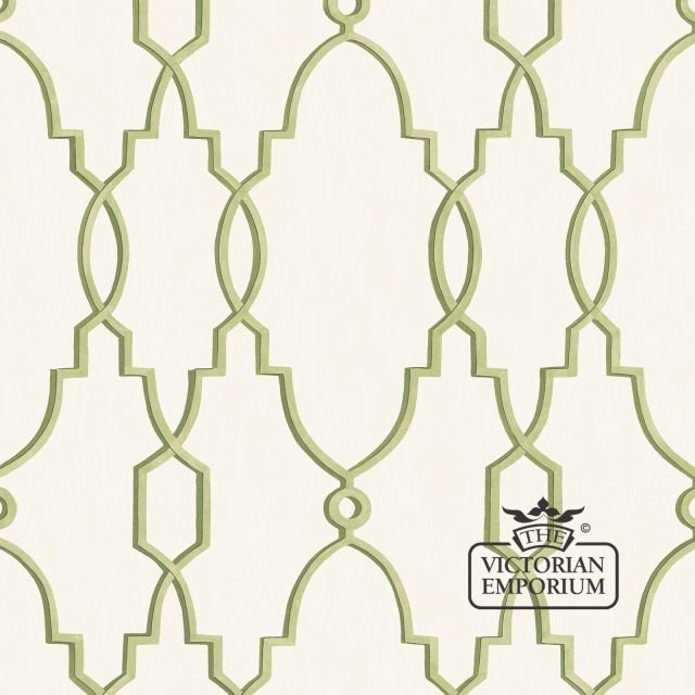 Parterre wallpaper in choice of six colours