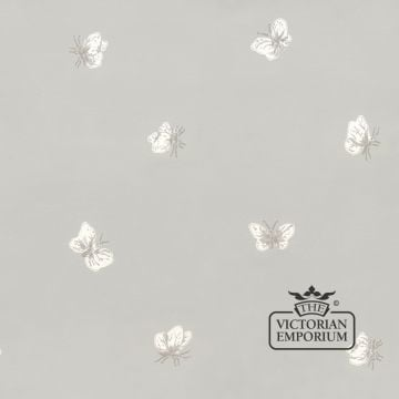 Peaseblossom and butterfly wallpaper in choice of five colours