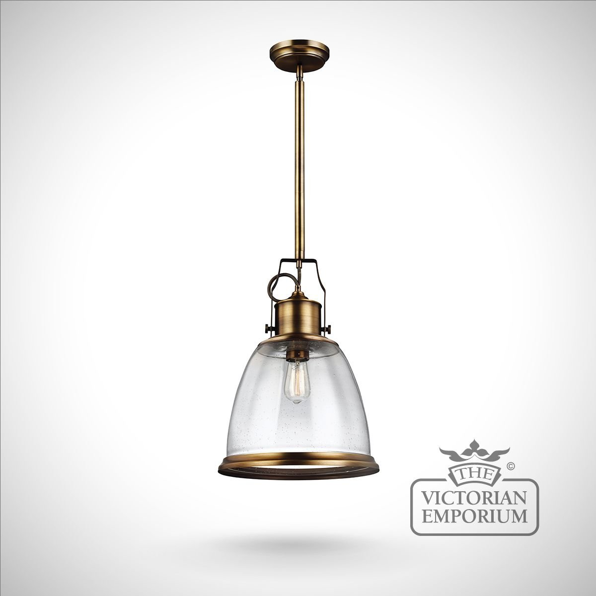 Hobsons Large Ceiling Pendant In Aged Brass Interior Ceiling And Hanging Lights