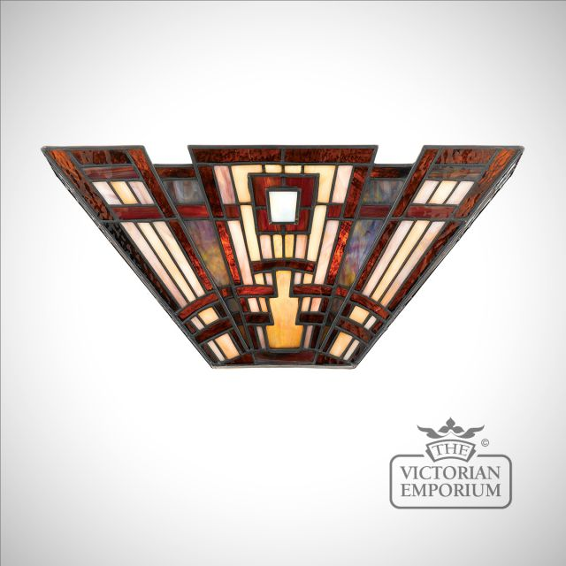 Tiffany Craftsman Wall uplighter
