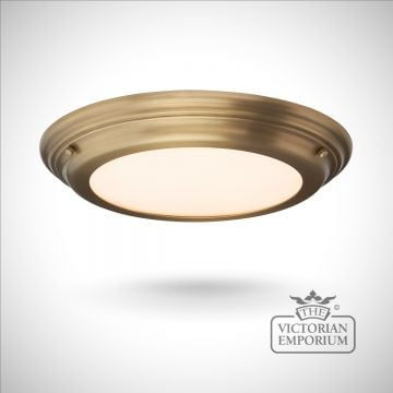 Wellend Shallow Flush Mount light in choice of 3 finishes