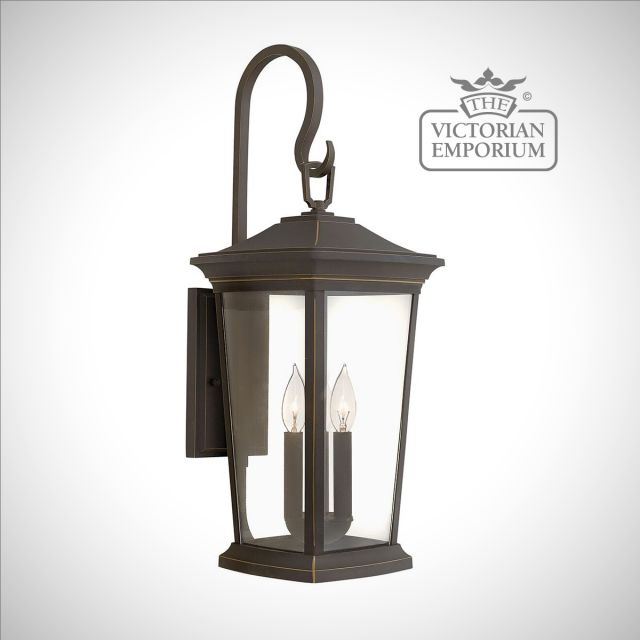 Bromleys large wall lantern in Bronze