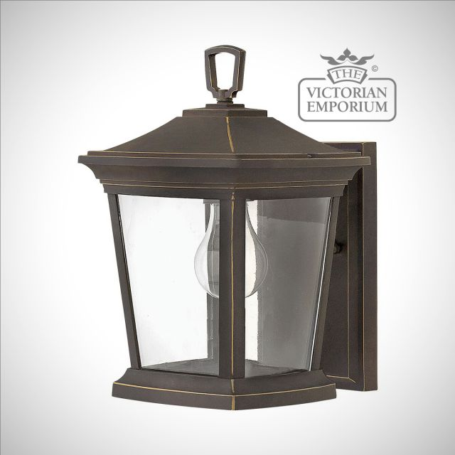 Bromleys small wall lantern in Bronze