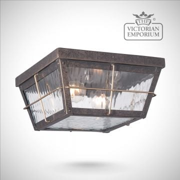 Cortlands ceiling flush mount light