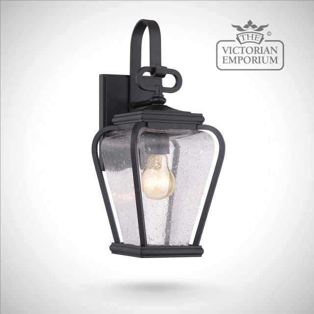 Province small wall lantern in Black