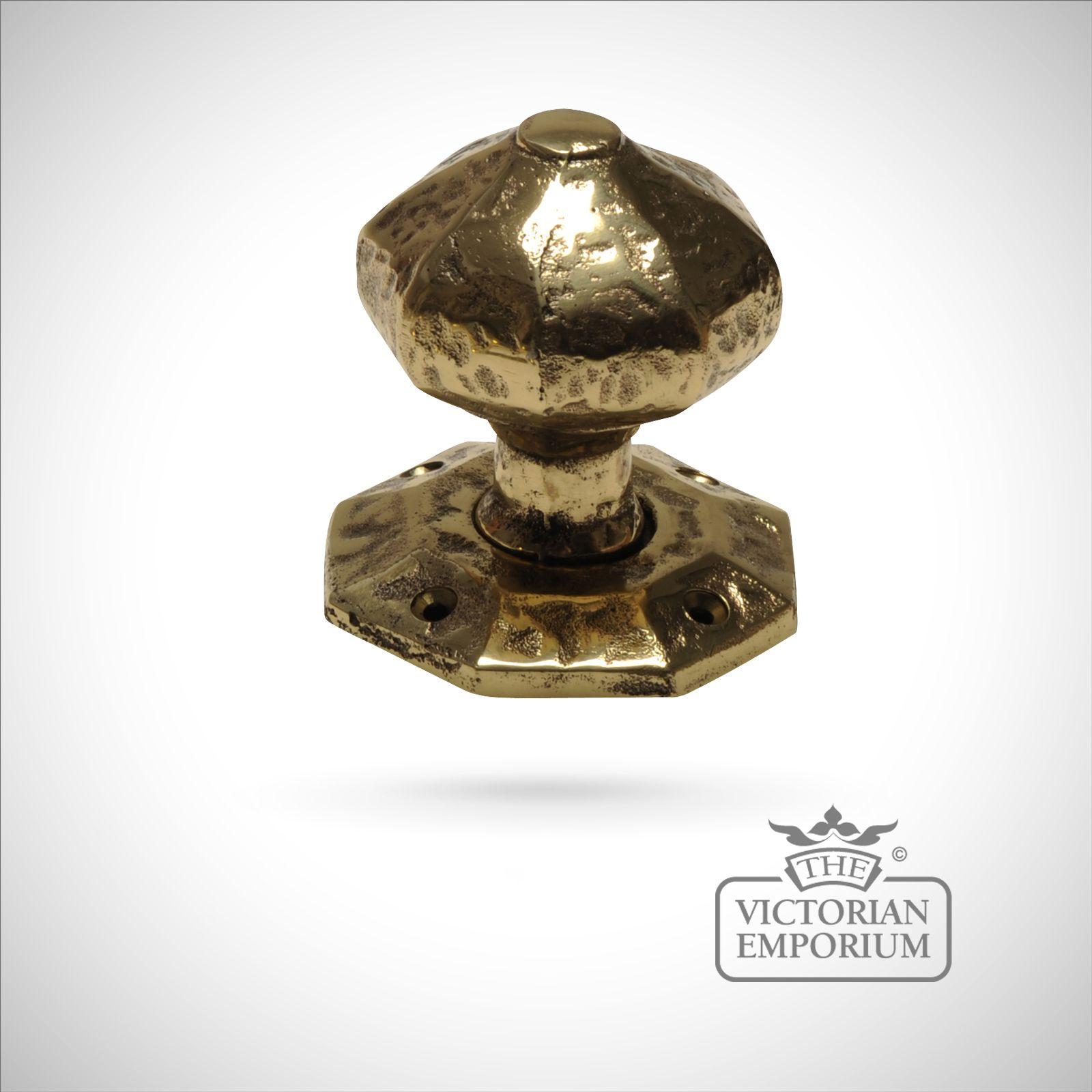 Cast Brass Door Knob Knobs The Victorian Emporium