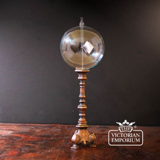 Radiometer on brass stand