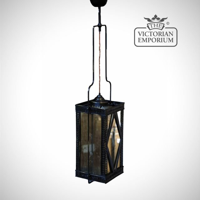 Iron ceiling lamp