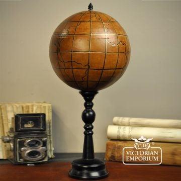 Leather globe