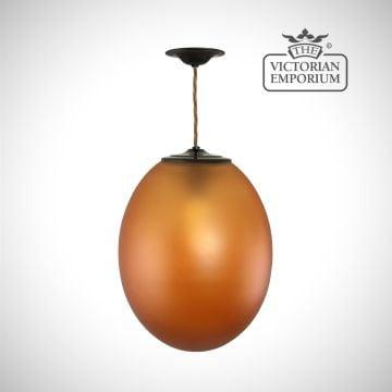 Egg ceiling pendant