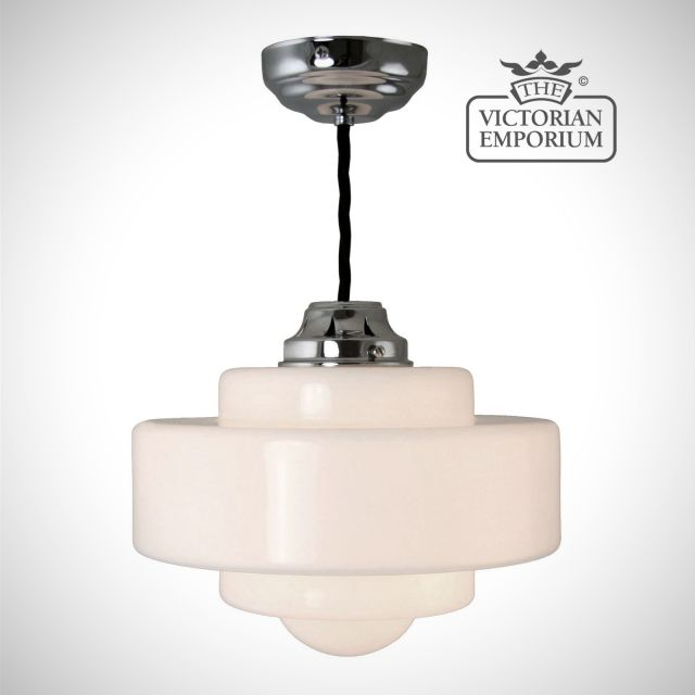 Soda pendant light in a choice of sizes