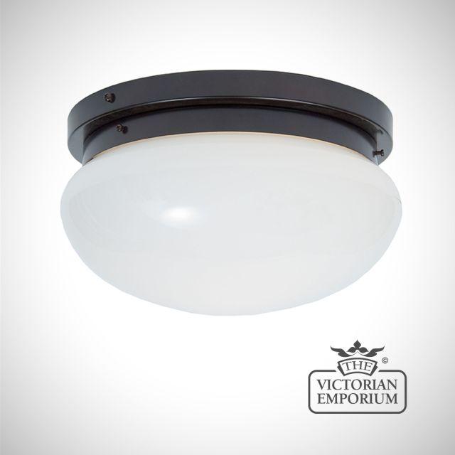 Flush mount bowl light