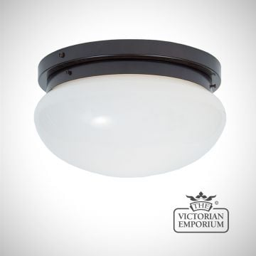 Flush mount bowl light