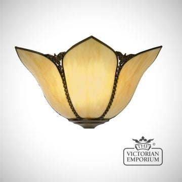 Petal Art Nouveau wall light