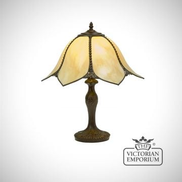 Petal Art Nouveau table lamp