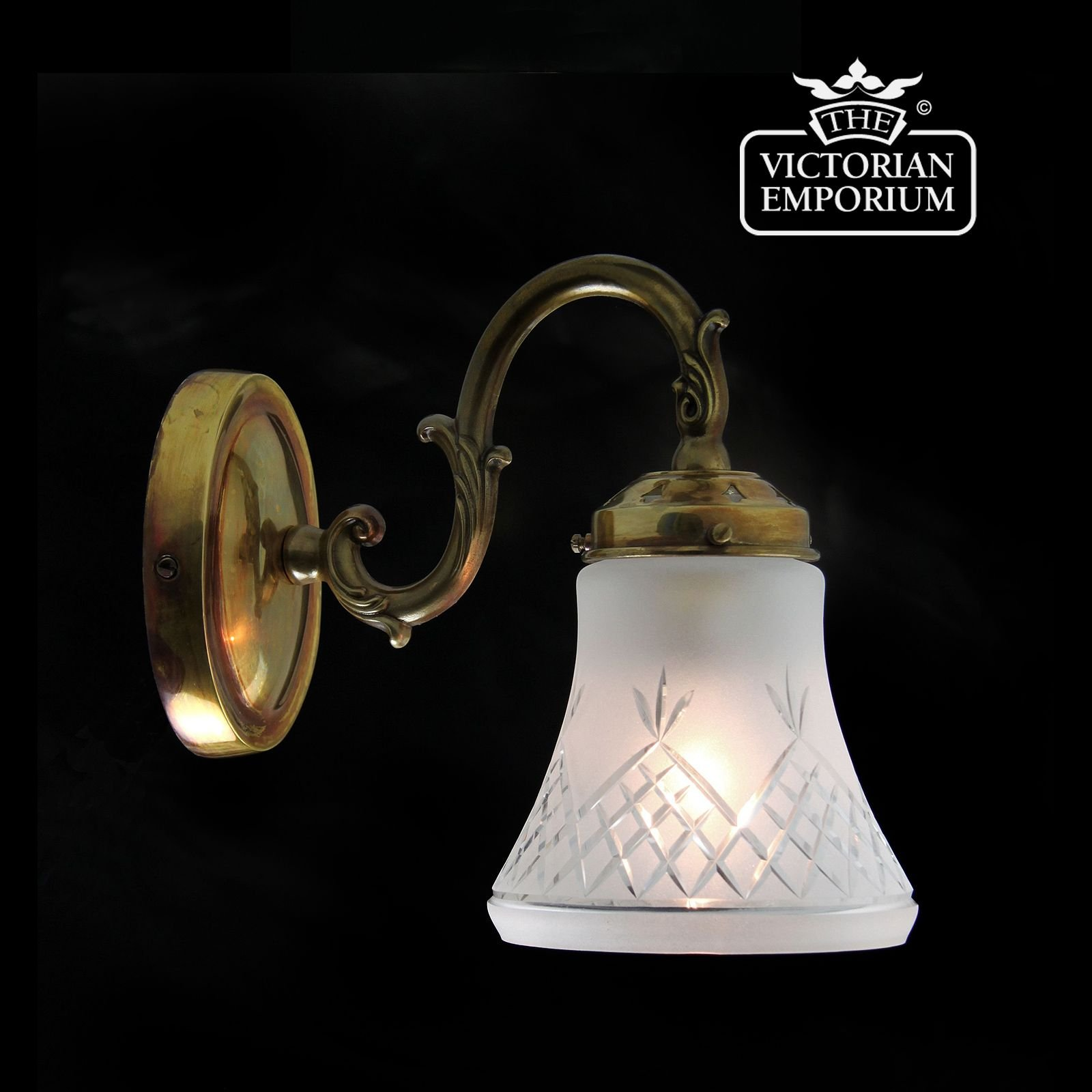 Etched cut glass wall light in distressed brass pineapple etched cut glass wall light in distressed brass mozeypictures Image collections