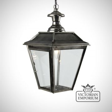 William small ceiling pendant in nickel black