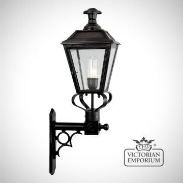 William wall light in antique bronze