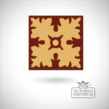 Traditional tiles -encaustic 17mm hand made old classical victorian decorative reclaimed-02